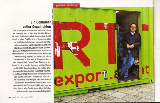 Das Kulturfoto der Woche (profil 16/2011)